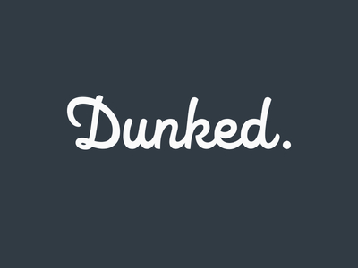 I also have a portfolio on Dunked!